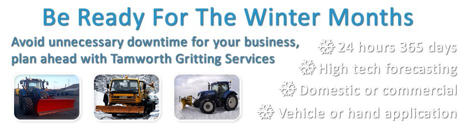 Tamworth Gritting Services | Gritting and Snow Clearance